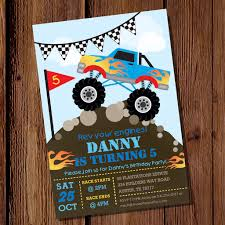 Invitation Ideas. Monster Truck Party Invitations - Birthday ... Custom Birthday Invitations Free Custom Printable Monster Truck Dump Party Unique Diy Garbage Tonka Cstruction Best Of Deluxe For Boys Cards Fresh Invitationsunder Etsy With Free Printables How To Nest Less Ideas Invites Kids Invitation Fire Engine