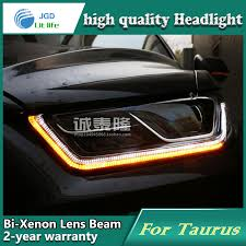 car styling l for ford taurus 2013 2015 headlights