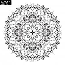 Flower Mandala Vintage Decorative Elements Oriental Pattern Vector Illustration Islam Arabic