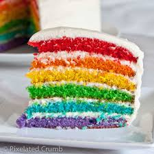 Rainbow Cake How to Make a Rainbow Cake by Cookies Cupcakes