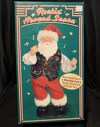 Who Sings Rockin Around The Christmas Tree by Amazon Com Rockin Around Santa Home U0026 Kitchen