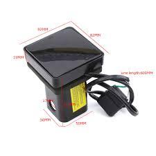 Keyecu 12 LED Red Tail Brake Light With 2