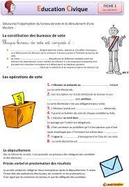 assesseur titulaire bureau de vote education civique le fonctionnement d un bureau de vote chaque
