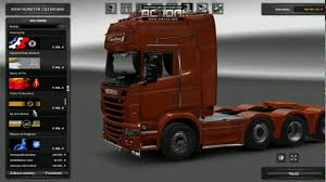Euro Truck Simulator 2 | Scania Tuning Mod V. 1.26.x | - YouTube
