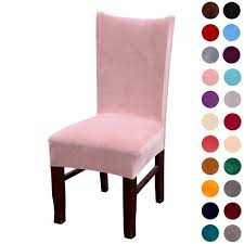 Anclle Slipcovers -Chair Covers Solid Large Dining Room Chair Protector  Home (Pink, Pack Of 4) Oxford Velvet Side Chair Pink Set Of 2 Us 353 17 Off1 Set Vintage Table Chairs For Dolls Fniture Ding Sets Toys Girl Kid Dollin Accsories From Glass Pressed Argos Green Dressing Raymour Exciting Navy Blue Pating Dark Stock Photo Edit Now Settee Near Black At In Flat Zuo Modern Merritt 1080 Living Room Ideas Designs Trends Pictures And Inspiration Shabby Chic White Extendable Ding Table With 6 Pink Floral Chairs In Middleton West Yorkshire Gumtree Painted Metro Room 4pcs Stretch Covers Seat Protector