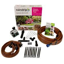 Raindrip Flower, Shrub And Tree Drip Watering Kit-SDFSTH1P - The ... Best 25 Home Irrigation Systems Ideas On Pinterest Water Rain Bird 6station Indoor Simpletoset Irrigation Timersst600in Dig Mist And Drip Kitmd50 The Depot Garden Sprinkler System Design Fresh Plan Your With The Orbit Heads Systems Watering 112 In Pvc Sediment Filter38315 Krain Super Pro 34 In Rotor10003 Above Ground 1 Fpt Antisiphon Valve57624 Minipaw Popup Impact Rotor Sprinklerlg3