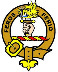 Chisholm Clan Crest Feros Ferio Motto Family History Gifts