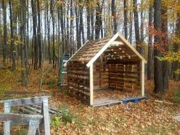 Buildings Xfoot Shed Woodshop U Pallets Free Pallet Hen House Chicken Coop Getting It Ready For