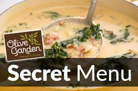 Olive Garden Secret Menu Items Mar 2018