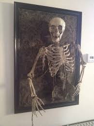 Walgreens Halloween Decorations 2015 by Skeleton Coming Out Of Frame Walgreens Skeleton Michaels Poster