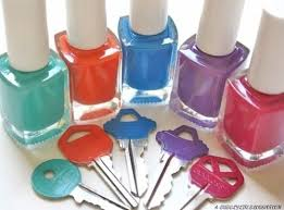 7 Nail Polish Key Covers