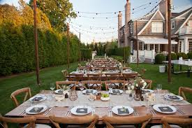 Rustic Outdoor Rehearsal Dinner Ideas Designs