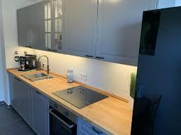 küche neu küchenzeile 3 meter grau mit elektrogeräte montage