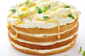 Pineapple curd cake