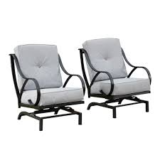 Patio Festival Rocking Metal Outdoor Lounge Chair With Gray Cushion (2-Pack) Contemporary Lounge Chair Leather Metal With Armrests Dc Lounge Chair Metal Arm Dark Grey Vinyl Upholstery Patio Festival Rocking Outdoor Gray Cushion 2pack Baker Living Room Riley Bkrba6584c Walter E Smithe Fniture Design Beige Nova Sled Black Armchair Bequest Accent Gold Martin Eisler Carlo Hauner 1950s And Rope Ottoman Pair Italian Mid Century Chairs With New Modern Newest Europe Sofa Single