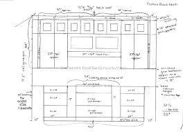 Bertch Bath Vanity Specifications by Bathroom Vanity Drawer Sizes