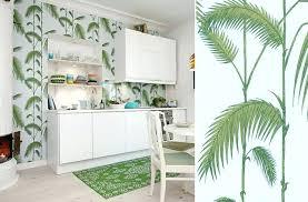 papier peint cuisine leroy merlin papier vinyl cuisine le papier peint a effet fait le mur chez