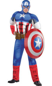 Halloween City Fort Wayne by Captain America Shield 24in Party City