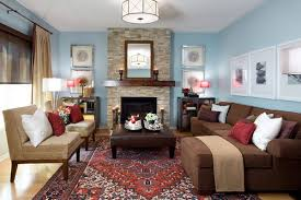 Light Brown Couch Living Room Ideas by Rosalie Configurable Living Room Set Blue Brown Living Room Decor