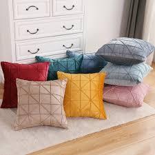 moderne minimalistischen hause sofa umarmung kissen wohnzimmer schlafzimmer home dekoration kissen abdeckung 45x45cm