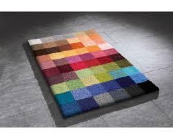 kleine wolke wc vorleger cubetto 60 cm x 60 cm multicolor
