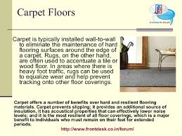 Types Of Floor Covering And Their Advantages by Floor Finish