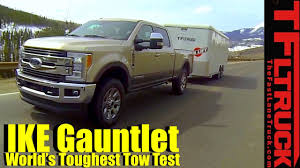 100 Toughest Truck 2017 Ford F250 Diesel V8 Takes On The Ike Gauntlet Review The