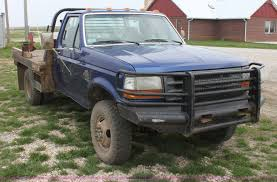 Used Deweze Bale Beds For Sale by 1997 Ford F350 Xl Bale Bed Truck Item F8671 Sold May 1