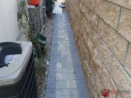 paver installation cost in los angeles go pavers