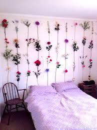 Flower Wall Floral Bedroom DecorFlower