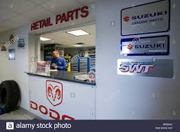 100 Dodge Trucks Parts Department Window In A Dealership That Sells And Suzuki