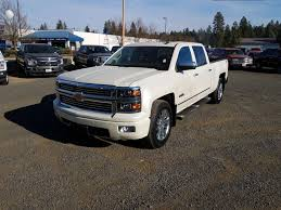 100 Truck 2014 PreOwned Chevrolet Silverado 1500 High Country With Navigation 4WD