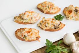 crab canapes crab canapés s dish