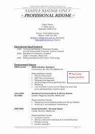 Security Jobs Resume Examples Sample For Guard