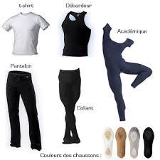 tenue de danse moderne les tenues pour les garçons ballet