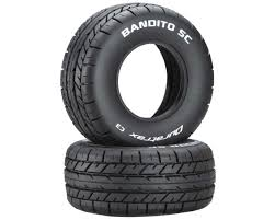 100 Truck Tired DuraTrax Bandito SC 110 OnRoad Tires 2 C3 DTXC3798