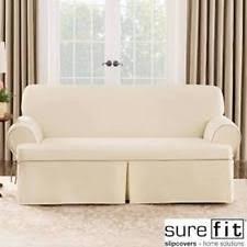 sofa slipcovers in white grey black red stretch 3 piece ebay