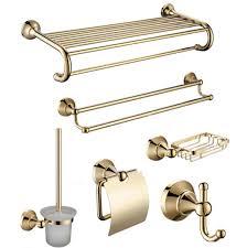 großhandel goldene badezimmer accessoires kaufen sie die