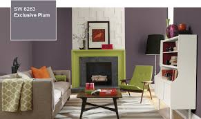 Popular Paint Colors For Living Rooms 2014 by 2014 Color Of The Year Exclusive Plum Sw 6263 By Sherwin Williams