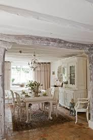 rustikale möbel im esszimmer sind der letzte schrei