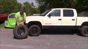 Upgraded Wheel & Tire Package, Dodge Dakota Part 1 With Interesting ...
