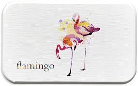 qinlee diatomit untersetzer flamingo stil seifenschale