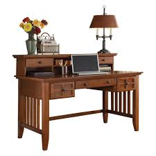 Sauder Graham Hill Desk Autum Maple Finish by Arts And Crafts Cottage Oak Executive Desk And Hutch Walmart Com