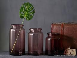 3 teiliges vasen set wohnzimmer dekoration