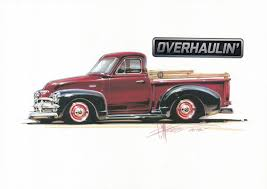 100 Chip Foose Truck On Twitter 1954 Chevy Pickup Tendering From
