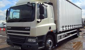 100 Truck Sleeper Cab Commercial Motor Truck Of The Week Daf CF Curtainsider With Sleeper