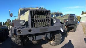 100 Military Truck Auction Finnish Army Surplus YouTube