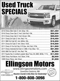 Used Truck Specials, Ellingson Motors, Caledonia, MN Pincher Creek Used Vehicles For Sale 2017 Ford F150 Lariat At Atlanta Luxury Motors Serving Metro Our Inventory Ag Cars Truck Parts Drill Motor Used Rc Car Hacked Gadgets Diy Tech Blog 2012 4wd Supercab 145 Xlt Ez Red Us 2599500 In Ebay Cars Trucks Austins La Habra Ca Dealer Truck Engines For Sale Best Diesel Engines Pickup The Power Of Nine