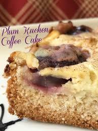 plum kuchen coffee cake turnips 2 tangerines