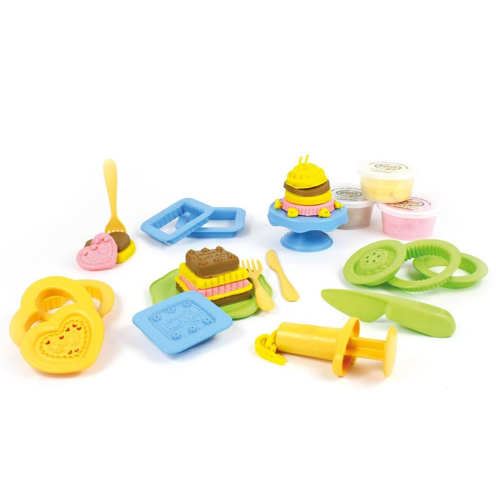 Green Toys Cake Maker Dough Activity Set - 20pcs